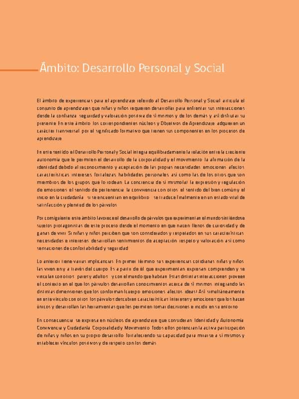 Corporalidad Y Movimiento Curriculum Nacional Mineduc Chile