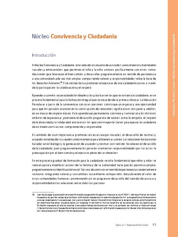 Nt Curriculum Nacional Mineduc Chile