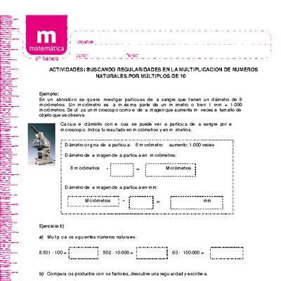 Ma05 Oa 02 Matemática 5 Básico Objetivo De Aprendizaje Curriculum Nacional Mineduc Chile