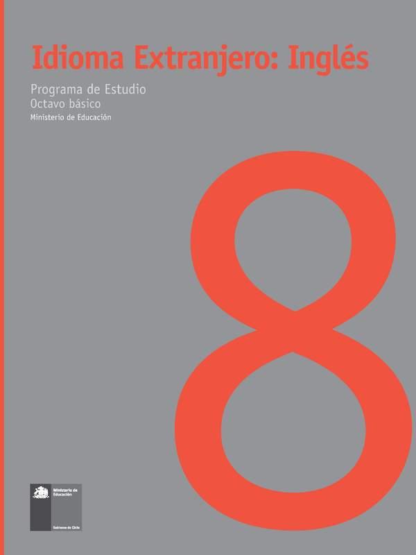 Ingles 8 Basico Curriculum Nacional Mineduc Chile