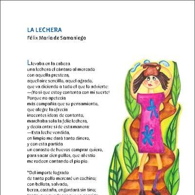 La Lechera Curriculum Nacional Mineduc Chile