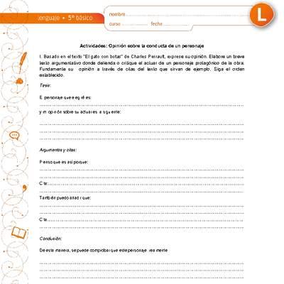 Texto Narrativo Curriculum Nacional Mineduc Chile