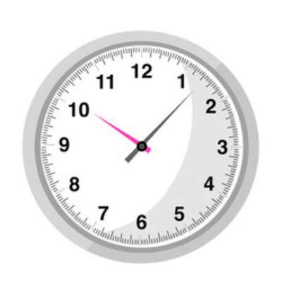 Reloj Manecillas Curriculum Nacional Mineduc Chile