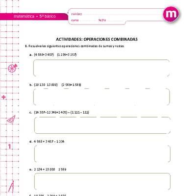 MA05 OA 05 - Curriculum Nacional. MINEDUC. Chile.