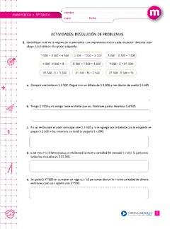 Resolucion De Problemas Curriculum Nacional Mineduc Chile