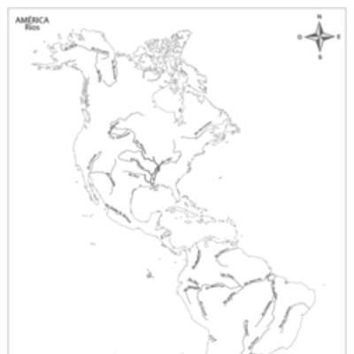Mapa Fisico De Oceania Mudo Para Imprimir En Blanco Y Negro.Mapa America Curriculum Nacional Mineduc Chile