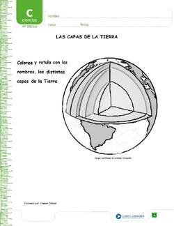 La Estructura De La Tierra Cuarto Basico