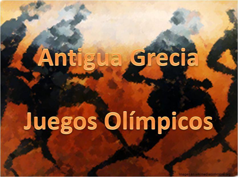 Juegos Olimpicos Antiguos Curriculum Nacional Mineduc Chile