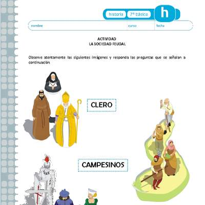 Feudalismo Curriculum Nacional Mineduc Chile