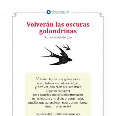 Volverán Las Oscuras Golondrinas Curriculum Nacional Mineduc Chile