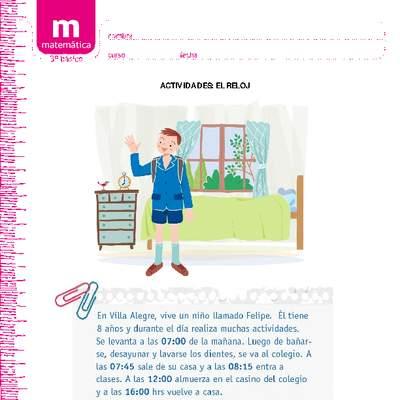 El reloj - Curriculum Nacional  MINEDUC  Chile