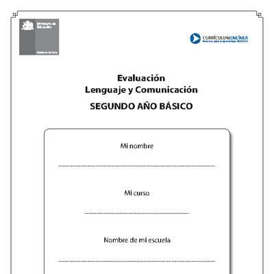Evaluación Textos Informativos Y Poema Del Sol Curriculum