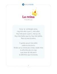 Pablo Neruda la reina