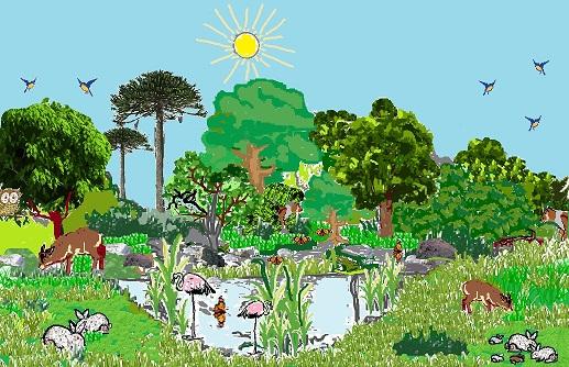 En busca del corazón verde: LOS ECOSISTEMAS 4º