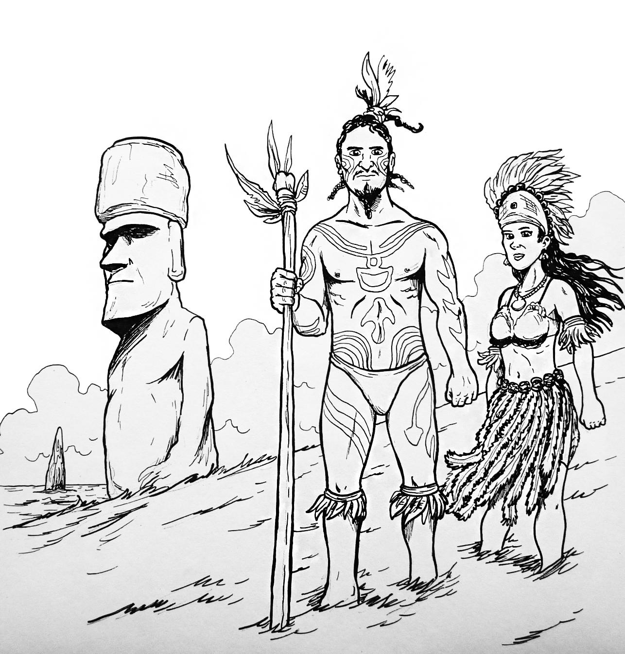Rapa Nui - Currículum en línea. MINEDUC. Gobierno de Chile.