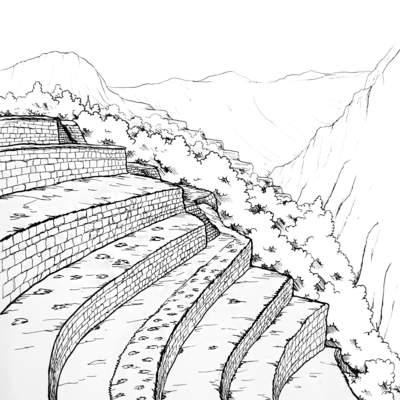 Terrazas De Cultivos Incas Curriculum Nacional Mineduc