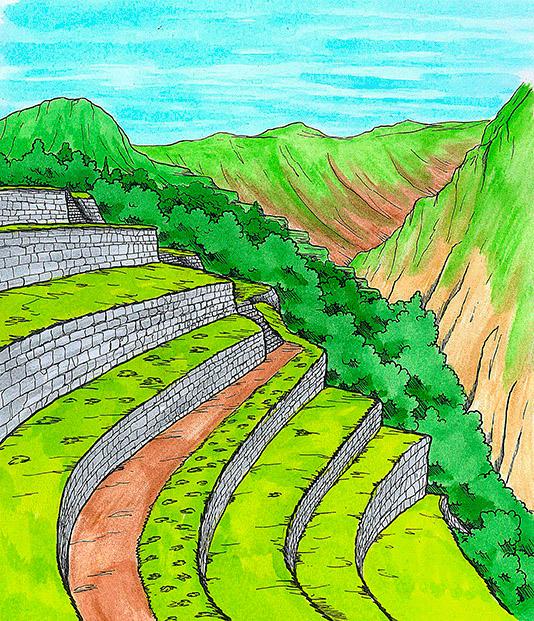 Pin De Oscar Coronado En Culturas Preincas Dibujos Inca