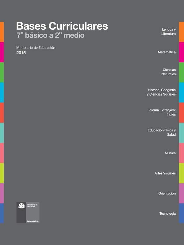 7 Básico Curriculum Nacional Mineduc Chile