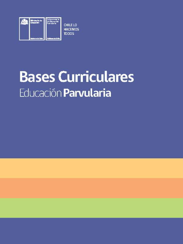 Bases Curriculares Educ Parv Imprenta Indd