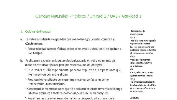 Unidad 3 - Biología: Microorganismos y barreras defensivas